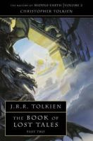 Tolkien, Christopher - Book of Lost Tales (History of Middle Earth) (Pt. 2) - 9780261102149 - 9780261102149
