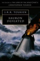 Tolkien, Christopher - Sauron Defeated (History of Middle-Earth) - 9780261103054 - 9780261103054