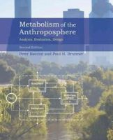 Baccini, Peter; Brunner, Paul H. - Metabolism of the Anthroposphere - 9780262016650 - V9780262016650