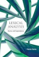 Hanks, Patrick - Lexical Analysis - 9780262018579 - V9780262018579