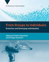 Bouchard, Frédéric, Huneman, Philippe - From Groups to Individuals - 9780262018722 - V9780262018722