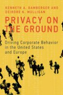 Bamberger, Kenneth A.; Mulligan, Deirdre K. - Privacy on the Ground - 9780262029988 - V9780262029988