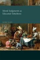 Sauer, Hanno - Moral Judgments as Educated Intuitions (MIT Press) - 9780262035606 - V9780262035606