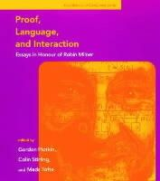 Plotkin, Gordon - Proof, Language and Interaction: Essays in Honour of Robin Milner (Foundations of Computing) - 9780262161886 - KEX0227955