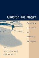 Kahn, Peter - Children and Nature - 9780262611756 - V9780262611756