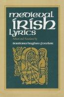 Fowler, Barbara Hughes - Medieval Irish Lyrics - 9780268034573 - V9780268034573