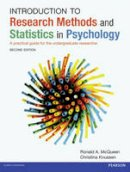 McQueen, Ron; Knussen, Christina - Introduction to Research Methods and Statistics in Psychology - 9780273735069 - V9780273735069