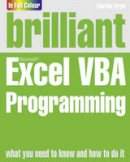 Frye, Curtis - Brilliant Excel VBA Programming - 9780273771975 - V9780273771975