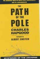 Hapgood, Charles H. - Path of the Pole - 9780285635968 - V9780285635968