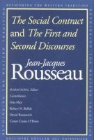 Rousseau, Jean-Jacques - The Social Contract - 9780300091410 - V9780300091410