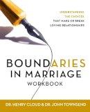 Cloud, Henry, Townsend, John - Boundaries in Marriage Workbook - 9780310228752 - V9780310228752
