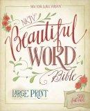 Zondervan - NKJV, Beautiful Word Bible, Large Print, Hardcover, Red Letter Edition: 500 Full-Color Illustrated Verses - 9780310446088 - V9780310446088