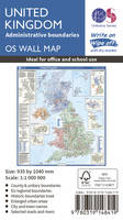 ORDNANCE SURVEY - United Kingdom Administrative Boundaries (OS Wall Map) - 9780319148419 - V9780319148419