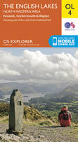 Ordnance Survey - The English Lakes - North-Western Area, Keswick, Cockermouth & Wigton (OS Explorer Map) - 9780319242438 - V9780319242438