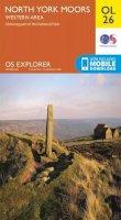 ORDNANCE SURVEY - North York Moors - Western Area (OS Explorer Map) - 9780319242650 - V9780319242650