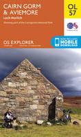 Ordnance Survey - Cairn Gorm & Aviemore, Loch Morlich (OS Explorer Map) - 9780319242964 - V9780319242964