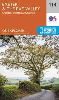 ORDNANCE SURVEY - Exeter and the Exe Valley (OS Explorer Map) - 9780319243152 - V9780319243152