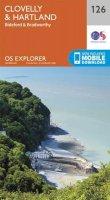 ORDNANCE SURVEY - Clovelly and Hartland (OS Explorer Map) - 9780319243220 - V9780319243220