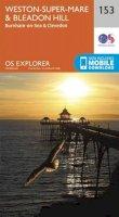 ORDNANCE SURVEY - Weston-Super-Mare and Bleadon Hill (OS Explorer Map) - 9780319243466 - V9780319243466