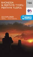 Ordnance Survey - Rhondda and Merthyr Tydfil (OS Explorer Map) - 9780319243596 - V9780319243596
