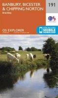 ORDNANCE SURVEY - Banbury, Bicester and Chipping Norton (OS Explorer Map) - 9780319243848 - V9780319243848
