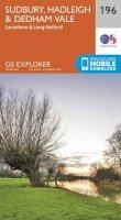 ORDNANCE SURVEY - Sudbury, Hadleigh and Dedham Vale (OS Explorer Map) - 9780319243893 - V9780319243893