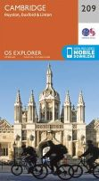ORDNANCE SURVEY - Cambridge, Royston, Duxford & Linton (OS Explorer Map) - 9780319244029 - V9780319244029
