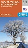 ORDNANCE SURVEY - Bury St.Edmunds and Stowmarket (OS Explorer Map) - 9780319244043 - V9780319244043