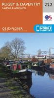 Ordnance Survey - Rugby and Daventry, Southam and Lutterworth (OS Explorer Map) - 9780319244159 - V9780319244159