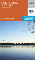 ORDNANCE SURVEY - Huntingdon and St.Ives, Grafham Water (OS Explorer Map) - 9780319244180 - V9780319244180