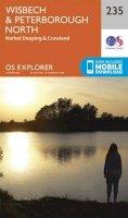 ORDNANCE SURVEY - Wisbech and Peterborough North (OS Explorer Map) - 9780319244289 - V9780319244289