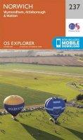 ORDNANCE SURVEY - Norwich (OS Explorer Map) - 9780319244302 - V9780319244302