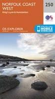 ORDNANCE SURVEY - Norfolk Coast West (OS Explorer Map) - 9780319244432 - V9780319244432