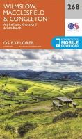 ORDNANCE SURVEY - Wilmslow, Macclesfield and Congleton (OS Explorer Map) - 9780319244654 - V9780319244654