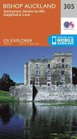 ORDNANCE SURVEY - Bishop Auckland - Spennymoor and Newtown (OS Explorer Map) - 9780319245576 - V9780319245576
