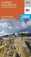Ordnance Survey - Dumfries and Dalbeattie (OS Explorer Map) - 9780319245651 - V9780319245651
