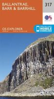 ORDNANCE SURVEY - Ballantrae, Barr and Barrhill (OS Explorer Map) - 9780319245699 - V9780319245699