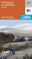ORDNANCE SURVEY - Nithsdale and Dumfries (OS Explorer Map) - 9780319245736 - V9780319245736