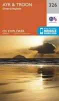 Ordnance Survey - Ayr and Troon (OS Explorer Map) - 9780319245781 - V9780319245781