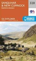 ORDNANCE SURVEY - Sanquhar and New Cumnock (OS Explorer Map) - 9780319245804 - V9780319245804