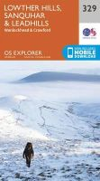 ORDNANCE SURVEY - Lowther Hills, Sanquhar and Leadhills (OS Explorer Map) - 9780319245811 - V9780319245811
