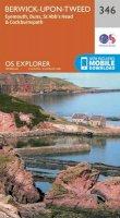 ORDNANCE SURVEY - Berwick-Upon-Tweed (OS Explorer Map) - 9780319245989 - V9780319245989