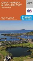 Ordnance Survey - Oban, Kerrera and Loch Melfort (OS Explorer Map) - 9780319246108 - V9780319246108