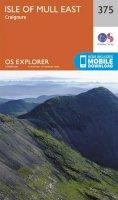 Ordnance Survey - Isle of Mull East (OS Explorer Map) - 9780319246221 - V9780319246221
