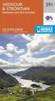 ORDNANCE SURVEY - Ardgour and Strontian (OS Explorer Map) - 9780319246344 - V9780319246344