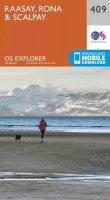 Ordnance Survey - Raasay, Rona and Scalpay (OS Explorer Map) - 9780319246443 - V9780319246443