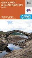 Ordnance Survey - Glen Affric and Glen Moriston (OS Explorer Map) - 9780319246504 - V9780319246504
