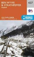 ORDNANCE SURVEY - Ben Wyvis and Strathpeffer (OS Explorer Map) - 9780319246801 - V9780319246801