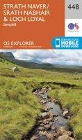 ORDNANCE SURVEY - Strath Naver / Strath Nabhair and Loch Loyal (OS Explorer Map) - 9780319246917 - V9780319246917