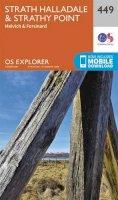 Ordnance Survey - Strath Halladale and Strathy Point (OS Explorer Map) - 9780319246924 - V9780319246924